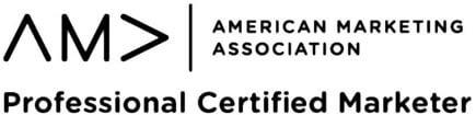 American Marketing Association certified marketer